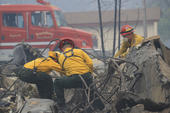 Calif Wildfire Remains