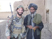 Afghan Soldier Trump