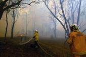 Australia Fires Plane